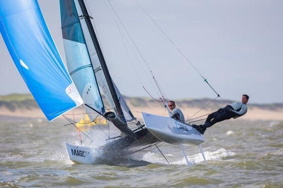 Maarten (rechts) en Ad Noordzij: ,,Wij hebben allebei een mening.''