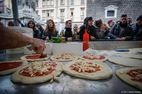 'Mozzarella in pizzeria's dieronvriendelijk'