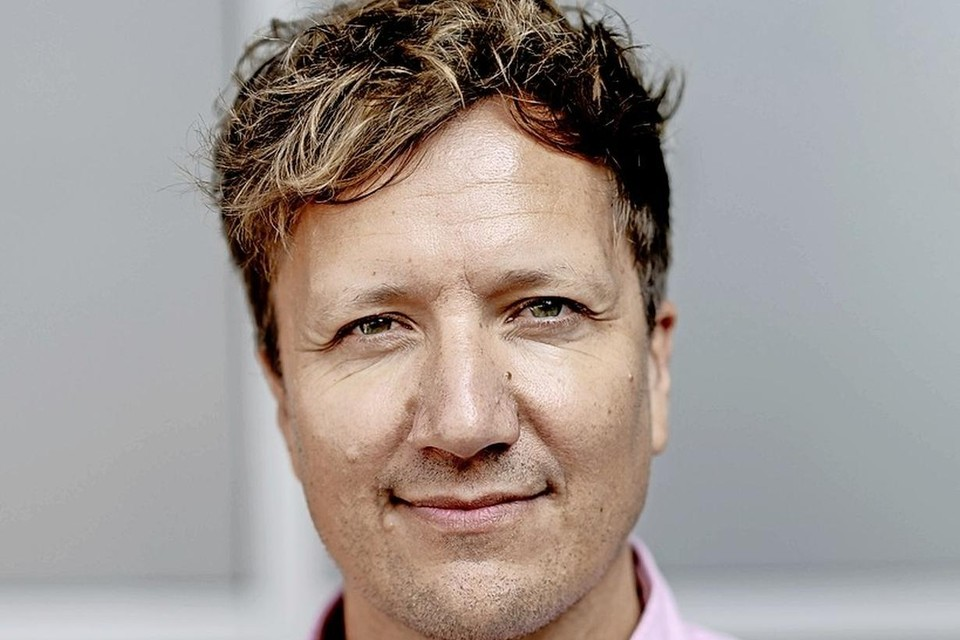 Presentator Klaas van Kruistum van het tv-programma 'Klaas kan alles'.