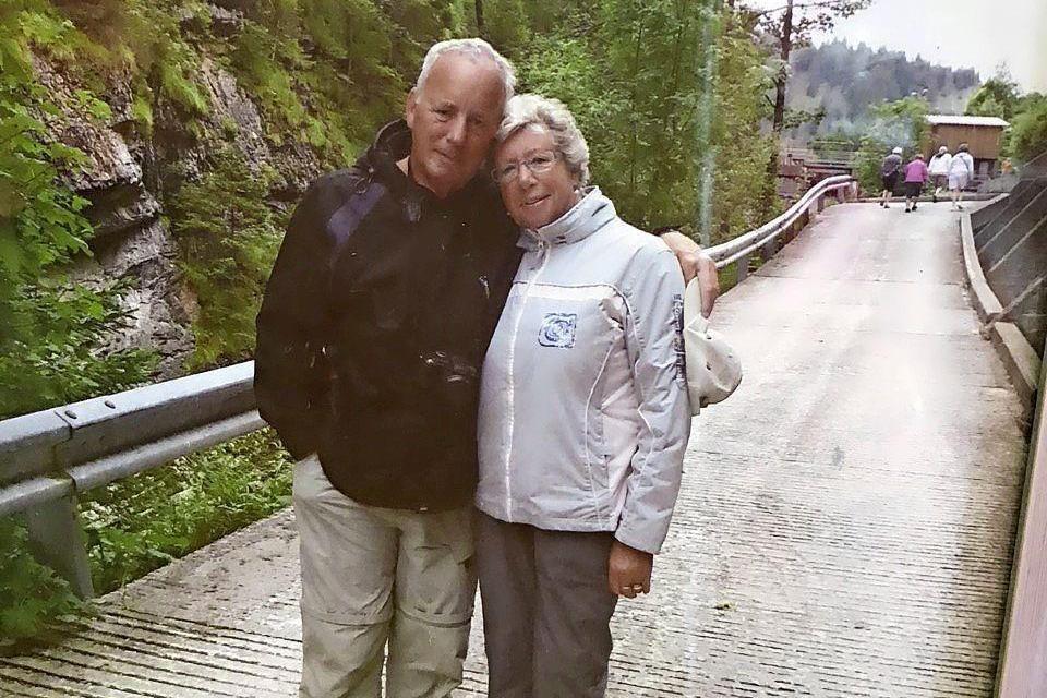 In Tirol bloeide de liefde tussen Ria en Henk op.