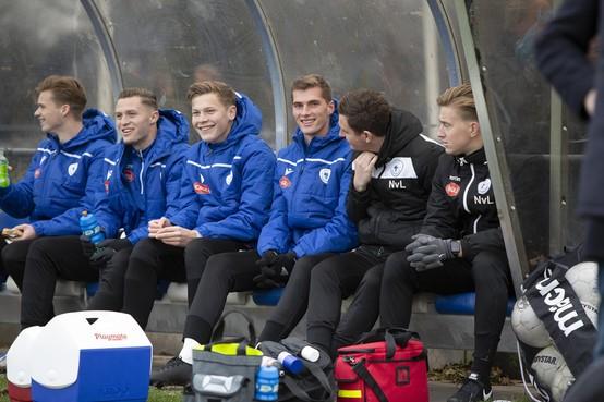 Robin Eindhoven (21) uit Heemstede vindt wachten op speelminuten bij Spakenburg lastiger dan verwacht