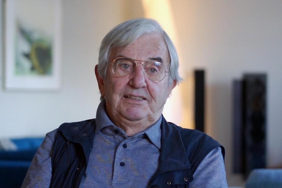Nic Brussee (82) uit Haarlem, woonde tijdens de oorlog in Heemstede.