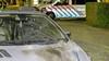 Geparkeerde auto Van Oosten de Bruijnstraat in Haarlem opnieuw doelwit van vuurwerkbom