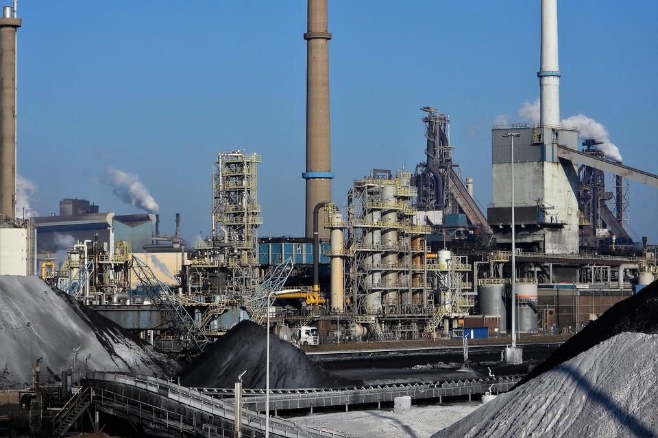 Kooksfabriek 2 op het terrein van Tata Steel.
