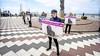 Stil protest tegen doodknuppelen zeehonden in Namibië. 'Als je niets doet, verandert er zeker niets'