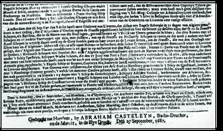 Vrijwilligers ontcijferen 17e eeuwse 'couranten'