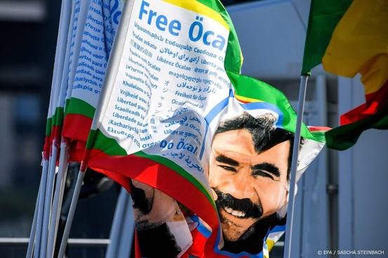 Koerdische manifestatie verloopt rustig