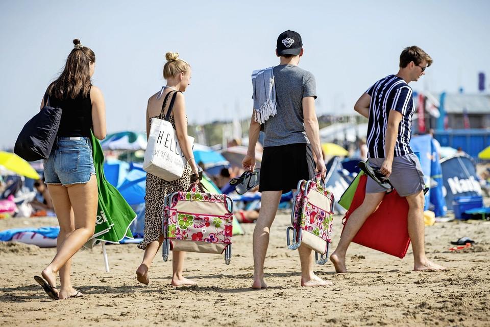 Jongeren op zomervakantie.