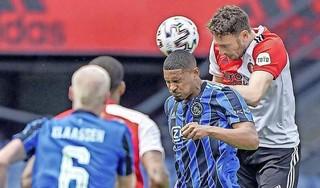 Ajax geeft Feyenoord klop in De Kuip: 3-0 [video]