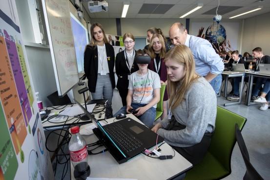 Op het Nova College leren voor een baan in de windenergie
