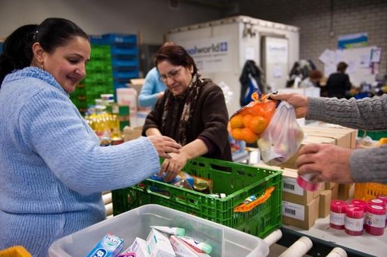 Actie Harmoniekoepel en Rotary voor Voedselbank Haarlemmermeer