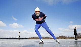 Vuntus lijkt beste plek voor schaatsliefhebbers, ijs langs Ankeveense Bergsepad is minder betrouwbaar, al kan strenge vorst veel goedmaken: 'Zwart ijs, dat moet je hebben' [video]