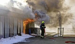 Uitslaande brand bij restaurant in Haarlem [video]