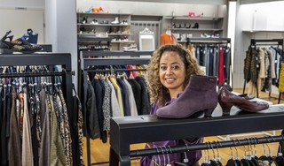 Na een levenslange liefde voor vintage heeft Tabitha Sleur met Via Tab eindelijk haar eigen winkel