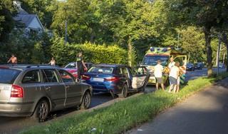Veel vertraging door ongeval op Zandvoorterweg in Aerdenhout