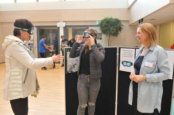 Met kleine verandering een gezonde leefstijl, Olga Commandeur liet zaterdag in Heemskerk zien hoe dat kan