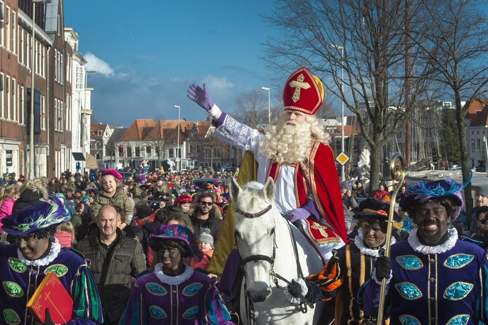 Intocht van Sinterklaas in Haarlem.