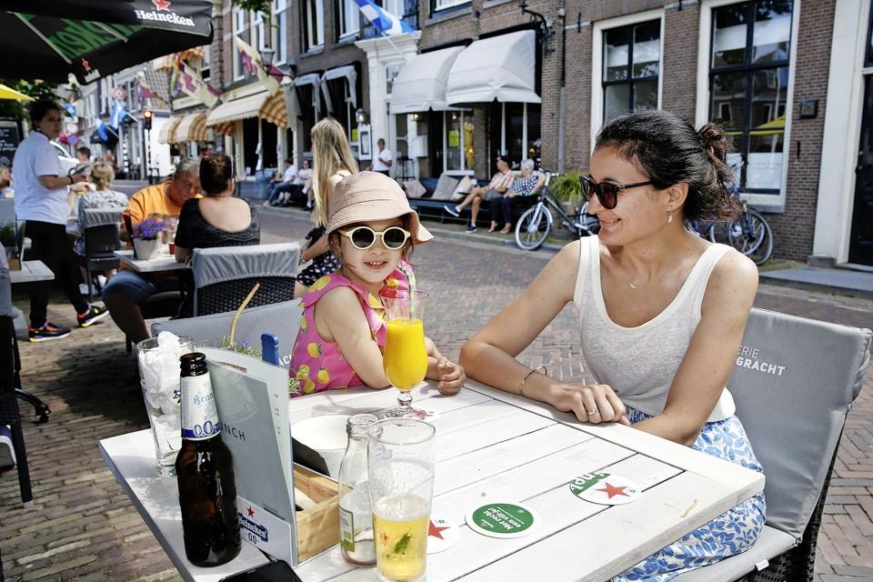 Lekker lunchen bij brasserie Herengracht in Muiden