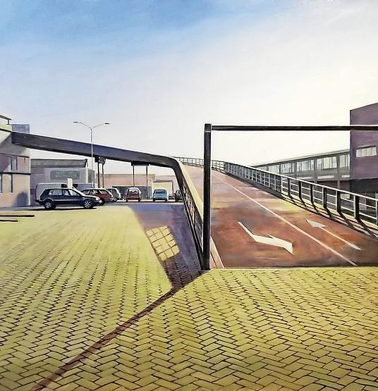 Parkeerterrein Gamma, Hilversum.