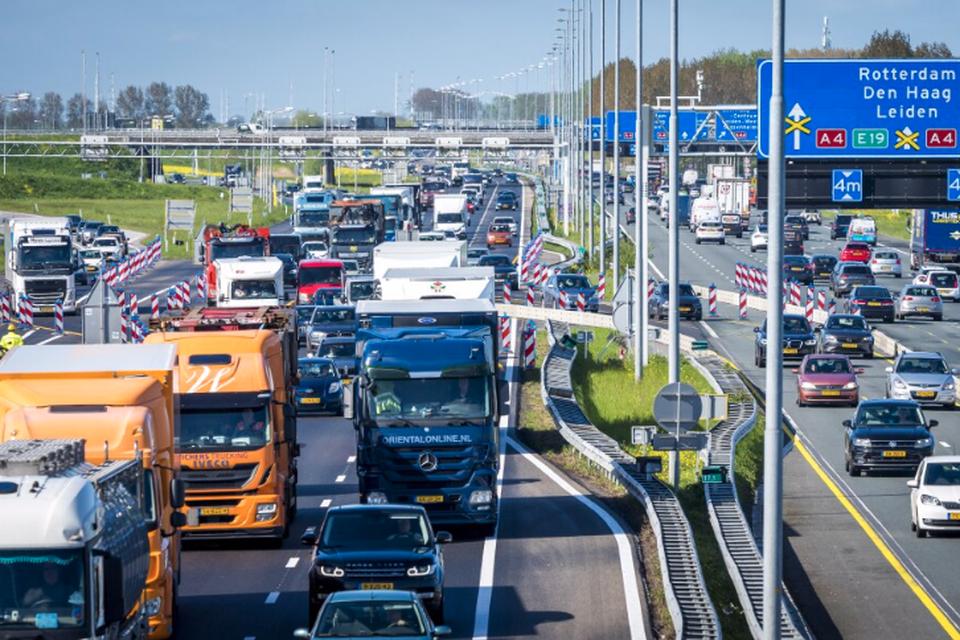 Een incident of bijvoorbeeld wegwerk leidt weer tot opstoppingen - helemaal als vanouds.