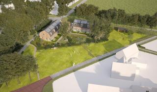 Plannen voor sociale huurwoningen Harmen Vosweg krijgen steeds meer vorm. Belangenvereniging maakt zich zorgen: 'Ons vertrouwen is geschaad'