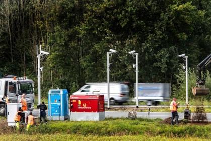 Trajectcontrole op de Drie Merenweg (N205) gaat komende zomer aan