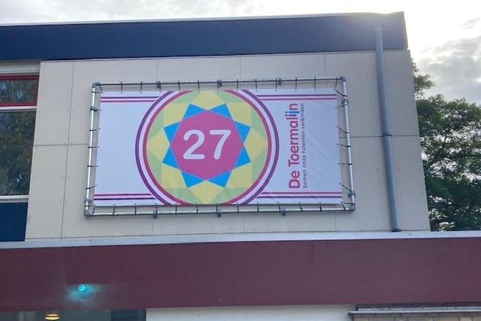 Eigenlijk bestaat de school nu al 27 jaar.