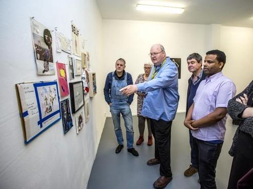 Nieuwe galerie van Joop Stoop T.S.O.O. in IJmuiden geopend