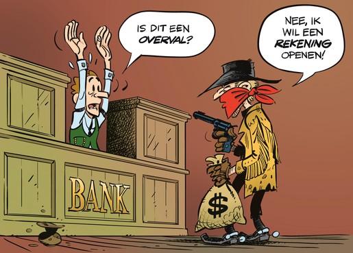 Leven zonder bankrekening