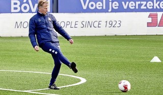 Andries Jonker wil niet zeuren over moordend speelschema Telstar: 'We moeten er ook van genieten, lekker veel mooie wedstrijden'