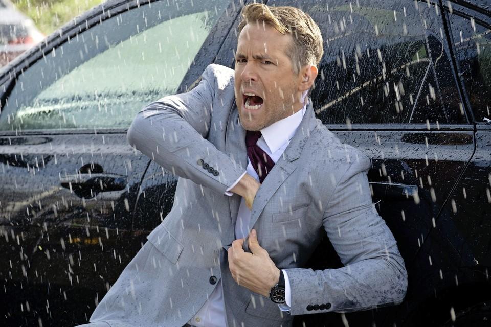 Ryan Reynolds in 'Hitman's wife bodyguard'.
