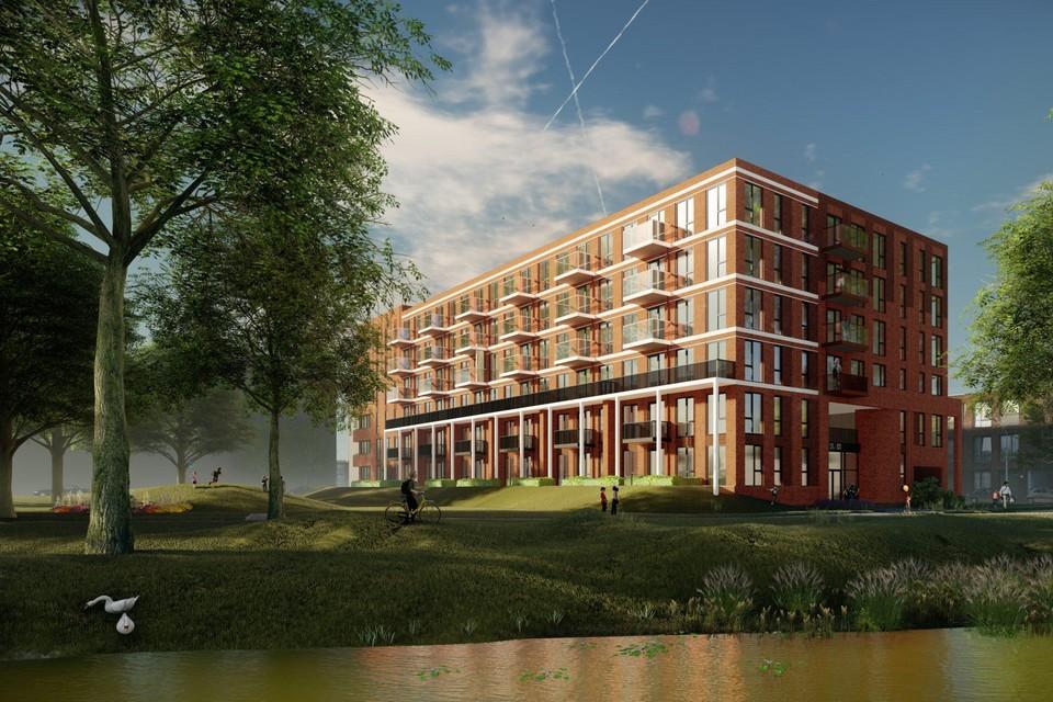 Het gaat om woningen in de middeldure huursector met een gemiddelde huurprijs van 850 euro.