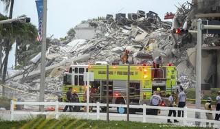 Vier doden en bijna 160 mensen zoek na instorten flat in Florida