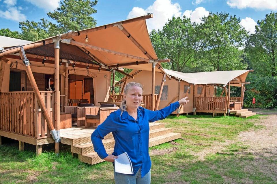 Parkmanager Anita Den Ouden.