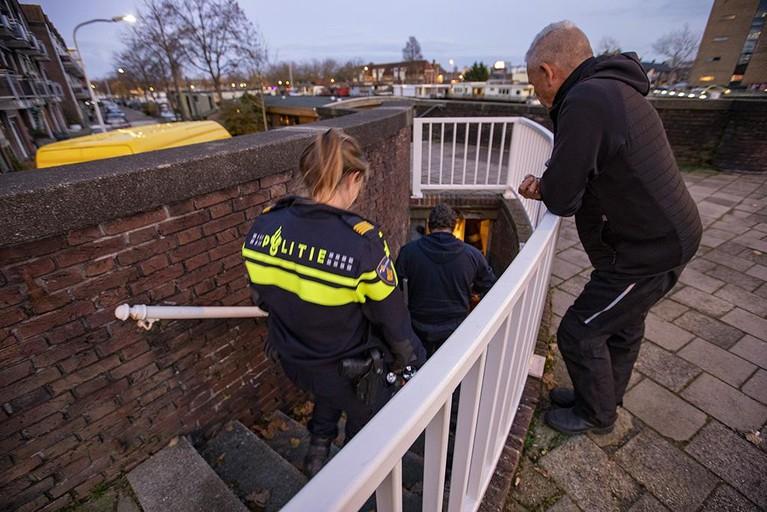 Hennepplantage ontdekt onder Buitenrustbrug in Haarlem [update]