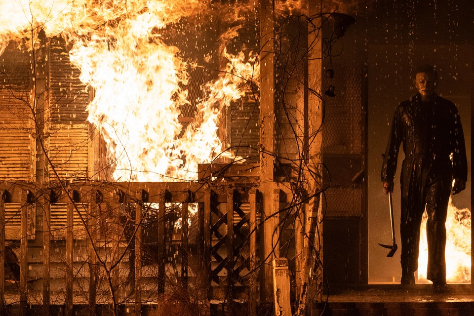 Michael Myers in 'Halloween kills'.