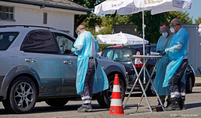Aantal nieuwe besmettingen in Duitsland daalt licht