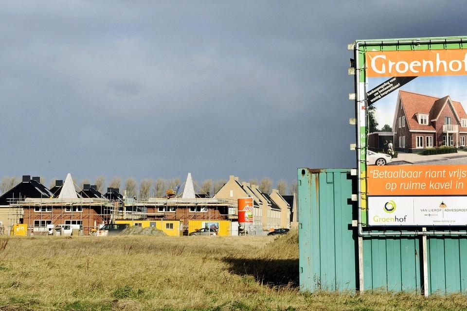 'Veel Noord-Hollanders zijn niet dol op een appartement maar willen ook een tuin', aldus Jan Overtoom van Bouwend Nederland.