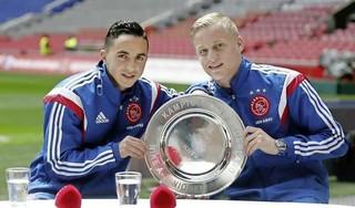 Tranen op wangen Nouri door transfer Donny van de Beek