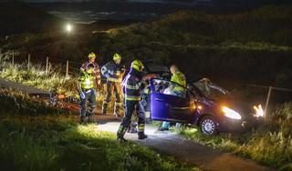 Bestuurder (19) gecrashte auto Zeeweg was onder invloed van hennep en mogelijk lachgas