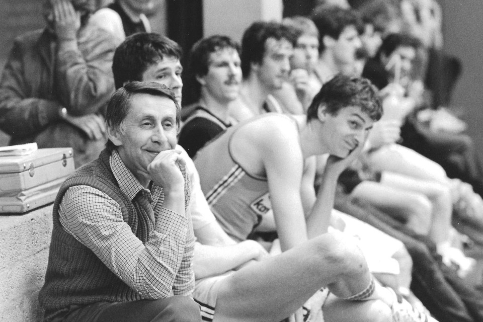 Basketbalcoach Vladmir Heger