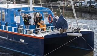 Sailwise doet Haarlem aan. 'Op het water komt het echte gezicht van iemand naar voren'
