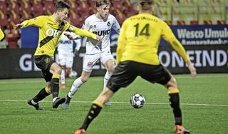 Telstar heeft het even moeilijk, beseft ook Andries Jonker na ongelukkige nederlaag tegen NAC Breda: 'Maar ik vind dat niet zo gek' [video]