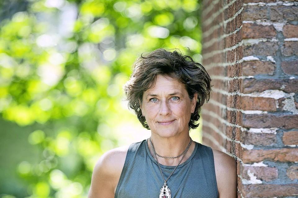 Barbara Labrie straalt een positieve strijdlustigheid uit.