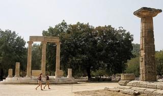 Bosbrand bedreigt Griekse Olympia, bakermat Olympische Spelen