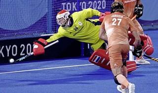 Hockeyers sluiten groepsfase af met nederlaag tegen Duitsers [video]