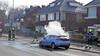 Bestuurster komt net op tijd aan bij haar bestemming in Velsen-Zuid. Tijdens het parkeren vliegt auto in brand