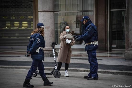 Sterftecijfer coronapatiënten in Italië stijgt weer iets