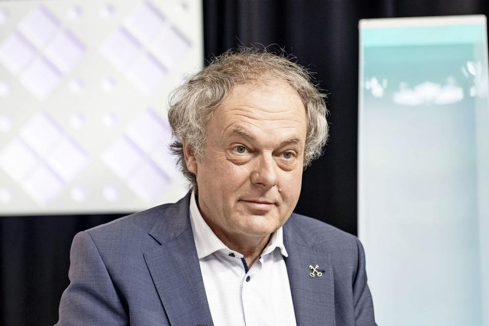 Henri Lenferink, burgemeester van Leiden.