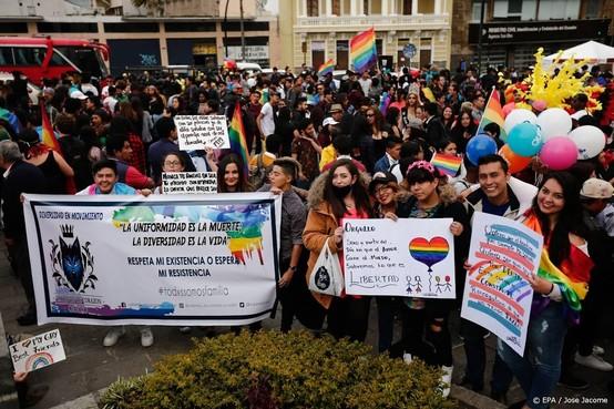 Hof Ecuador keurt homohuwelijk goed